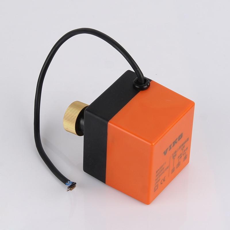 AC220 actuador eléctrico de tres cables/interruptor de control/motor impulsado para vapor de agua/CONTROLADOR DE válvula de bola motorizada de gas de calor