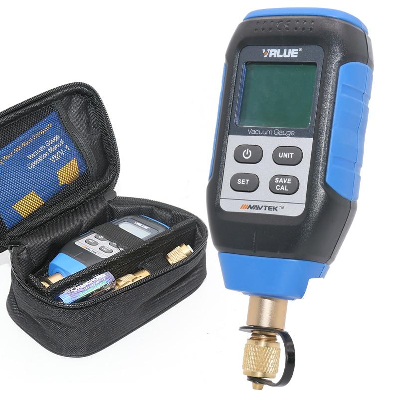 ذكي الرقمية مقياس التخلخل مختبر التبريد نظام فراغ التفتيش مقياس التخلخل VMV-1 0-10000 وعاء