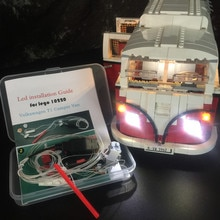 KYGLARIN Luce Led Kit per Creator 10220 / 21001 il T1 Camper Van Blocchi auto