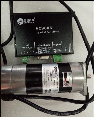 Leadshine 180 w BLM57180-1000 + dc servo motor conductor ACS606 24-36 v un conjunto al por mayor