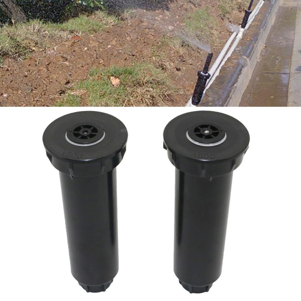 Регулируемая 25 ~ 360 градусов 1/2 дюйма Внутренняя резьба Пружинные всплывающие спринклеры садовые лужайки ирригационные насадки для полива 1 шт.