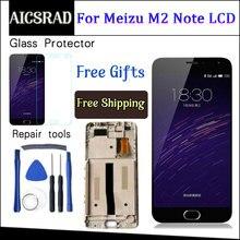 AICSRAD LCD affichage + numériseur écran tactile assemblage pour Meizu M571 M2 Note téléphone portable 5.5 pouces Meilan Note2 avec cadre