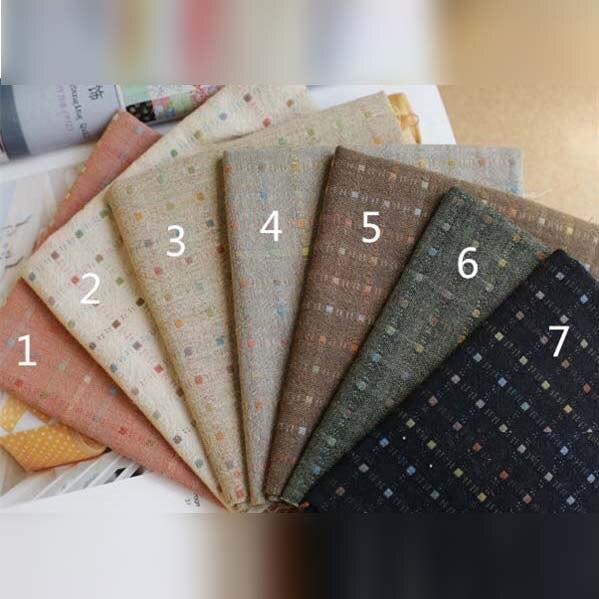 Frische jacquard färben baumwolle stoff diy fühlte tuch für heimtextilien nähen patchwork handwerk material tasche stoff liefert tissu