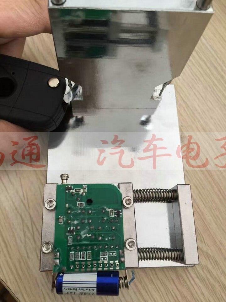 Herramienta de desmontaje y soldadura de llave plegable 2 en 1 de Locksmith, extractor de llaves abatible de clavija de separación y herramienta de fijación de instalación, envío gratis