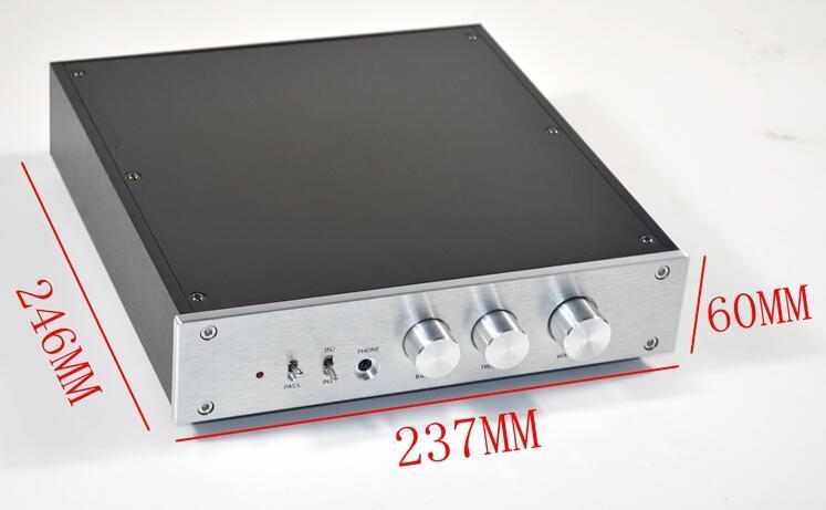PREAMPLIFICADOR AV2 Tone preamplificador fever preamplificador de alta fidelidad banda de entrada de 2 vías y headamplifier DIY