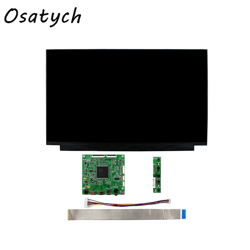 Para BOE, Panel de pantalla LCD 4K NV156QUM-N32 de 15,6 pulgadas + placa controladora 3840*2160