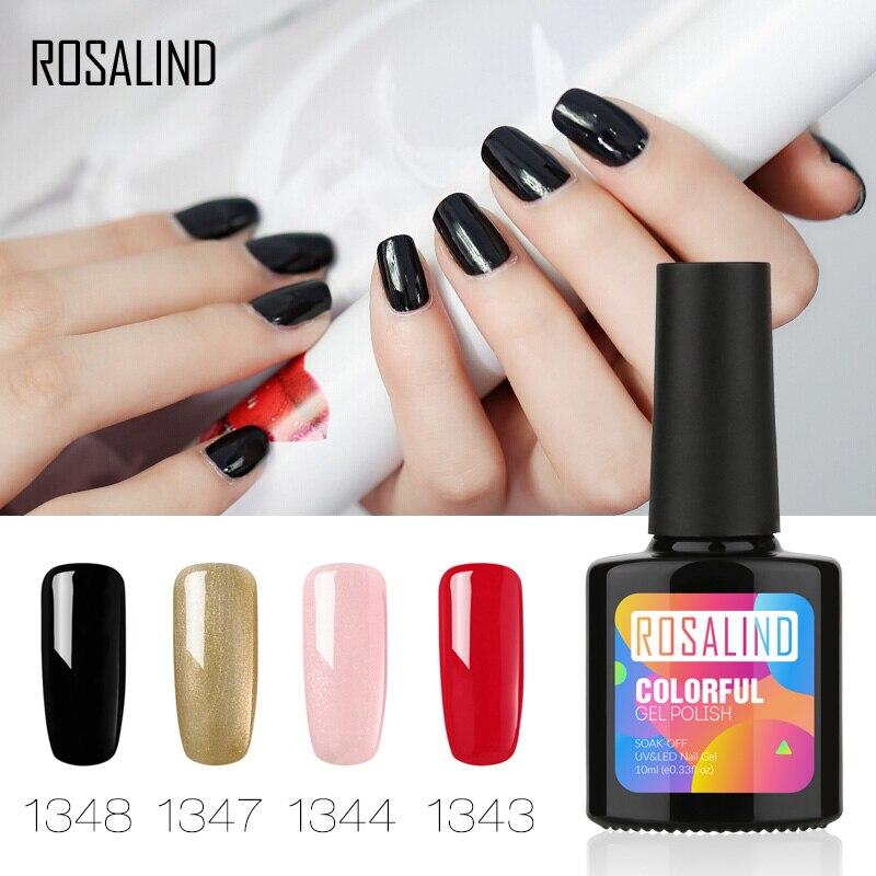 Гель-лак для ногтей ROSALIND 1S, бутылка для ногтей 10 мл, Новое поступление 1467-1864, Гель-лак для ногтей, УФ-светодиодный Гель-лак телесного цвета
