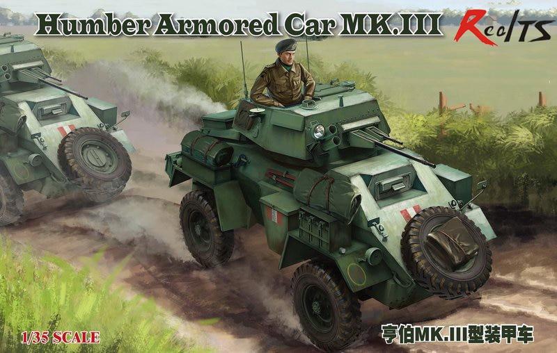 Bronco RealTS CB35112 1/35 SEGUNDA GUERRA MUNDIAL Britânico Humber Armored Car MK. III