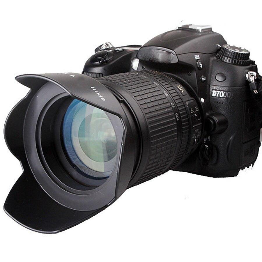 58 мм бленда для объектива Canon EOS 1300D 1200D 800D 760D 750D 700D 650D 600D 100D 80D 70D 77D 60D и 18-55 мм