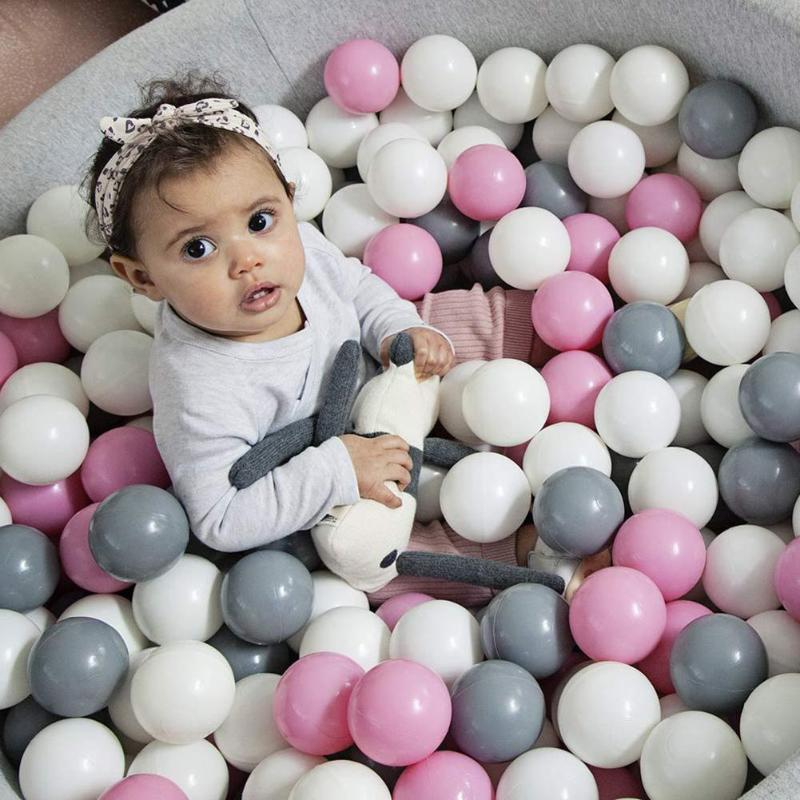 50/100pcs Kids Ocean Balls PVC Baby Colorful Pool Sea Balls Children Swimming Pool Playing Toy Kids Tent House Ocean Balls Toys