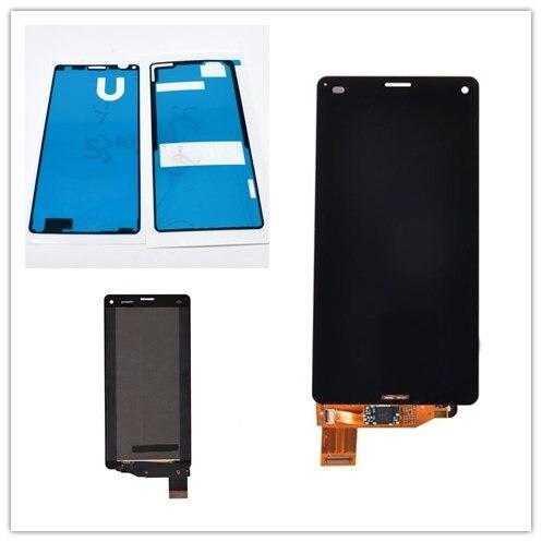 JIEYER 4,6 дюйма Z3 компактный LCD черный для Sony Xperia Z3 Compact D5803 D5833 ЖК-дисплей кодирующий преобразователь сенсорного экрана в сборе деталей