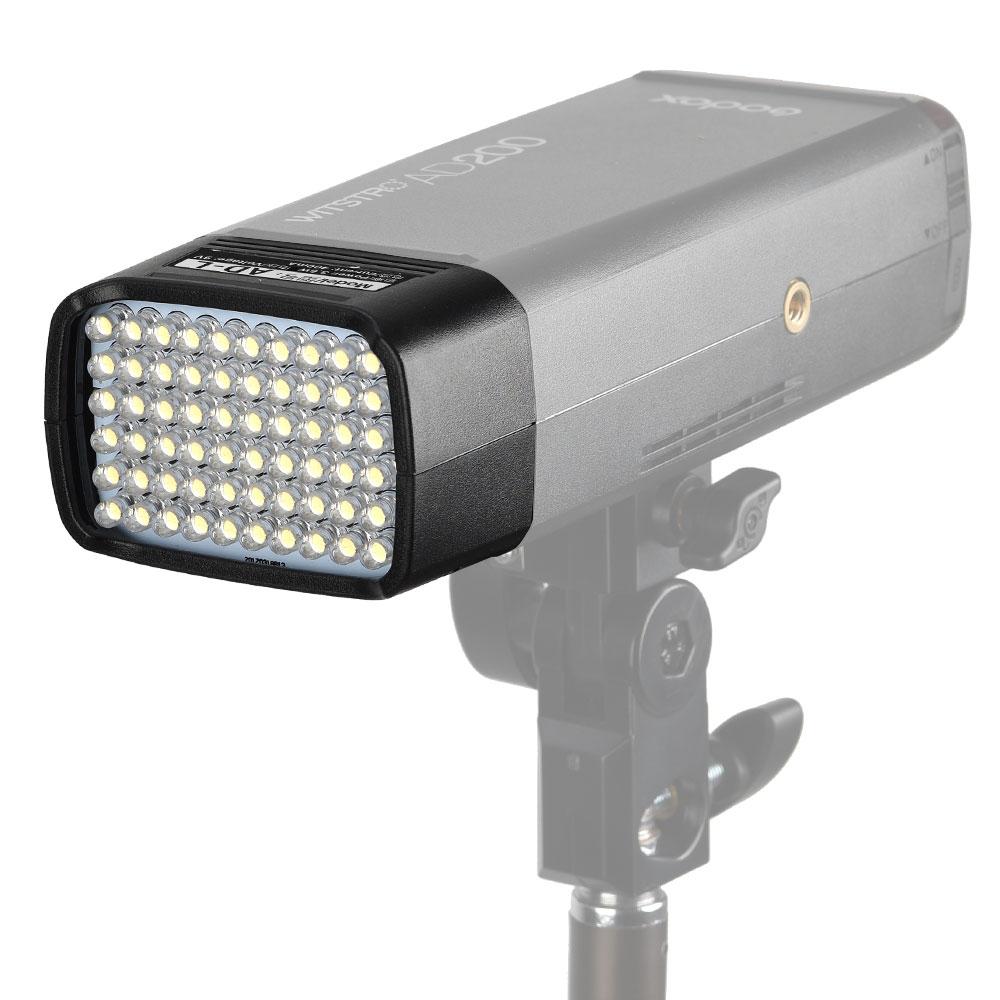Godox AD-L flash portátil de bolsillo de luz flash AD200 cabeza de luz dedicada 60 piezas lámpara LED para AD200