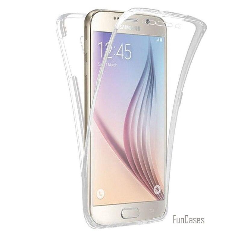 360 Full Body Protection Hybrid Case For Galaxy J8 2018 J6 Plus J4 J330 J530 J730 Soft TPU Cover Huawei Honor 8A 8S Enjoy 9