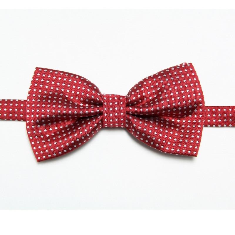 HOOYI 2019 men's polyester bows man bowtie dot neck ties fashion tie butterfly