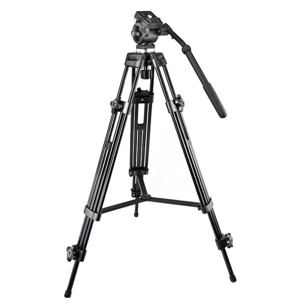 Meking profesional fotográfico portátil trípode de aluminio monopié + cabezal de bola Cámara plegable para Digital SLR DSLR