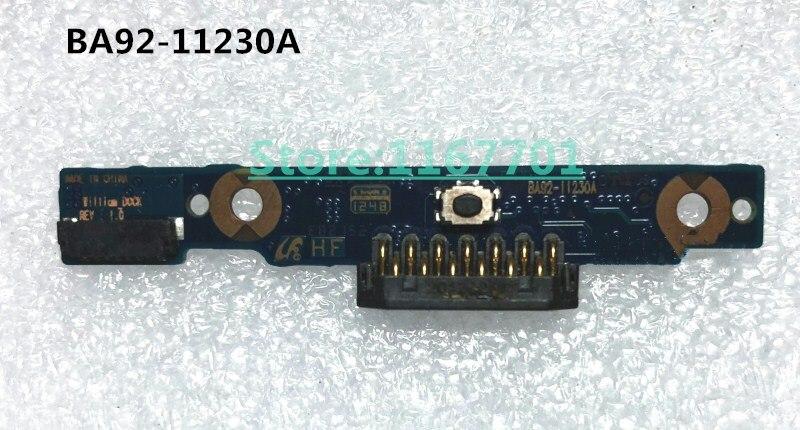 Original Laptop/Notebook LCD/LED Eixo/Dobradiças Teclado Placa de Adaptador de Conector para Samsung XE500T1C 500T1C BA92-11230A