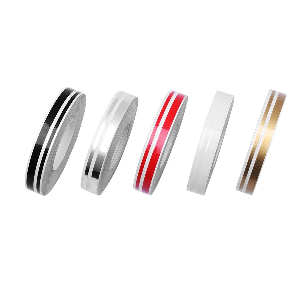 Armsky alta qualidade 12mm x 9800mm 6 cores preto/vermelho/branco/ouro/tira/carro azul auto adesivo fita listra adesivo universal se encaixa