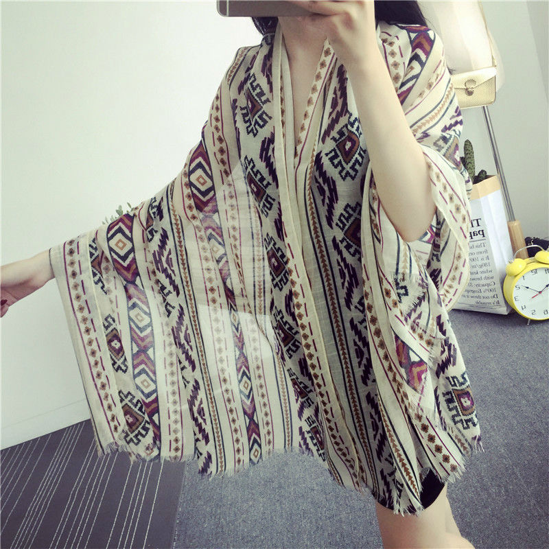 Nova impressão estilo nacional losango projeto hijab Muçulmano cachecol lindo embalagem independência 10 pcs bandana lenço de seda Frete Grátis
