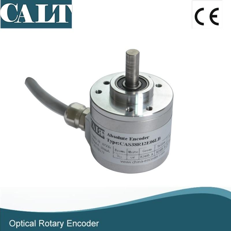CALT 16 bits haute résolution codeur rotatif absolu CAS60 115200 bps débit en bauds 24 V dc RS485 capteur de position