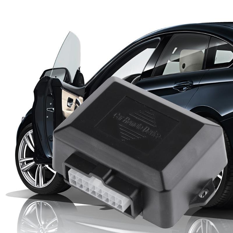 VODOOL Universal 4 Tür Power Fenster Näher Modul Auto Fenster Roll-UP Näher Assistent Werkzeug Auto Alarm Systeme Sicherheit protector
