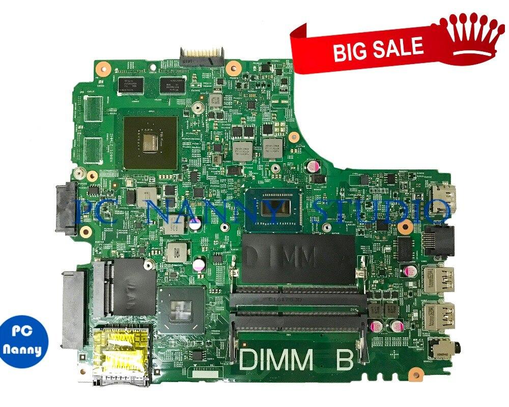 PCNANNY 055NJX 55NJX لديل انسبايرون 15R 3421 اللوحة I5-3337U DDR3 GT625M 12204-1 اختبار