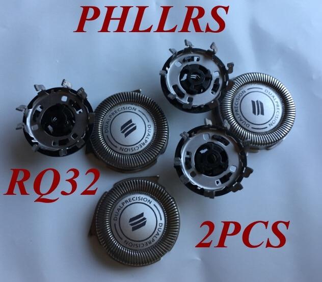 2 uds RQ32 hoja de afeitar reemplazar la cabeza para PHILIPS Shaver RQ11 RQ12 RQ10 RQ1050 RQ1075 RQ1060 RQ1085 RQ1090 RQ1095 RQ1059 RQ1070