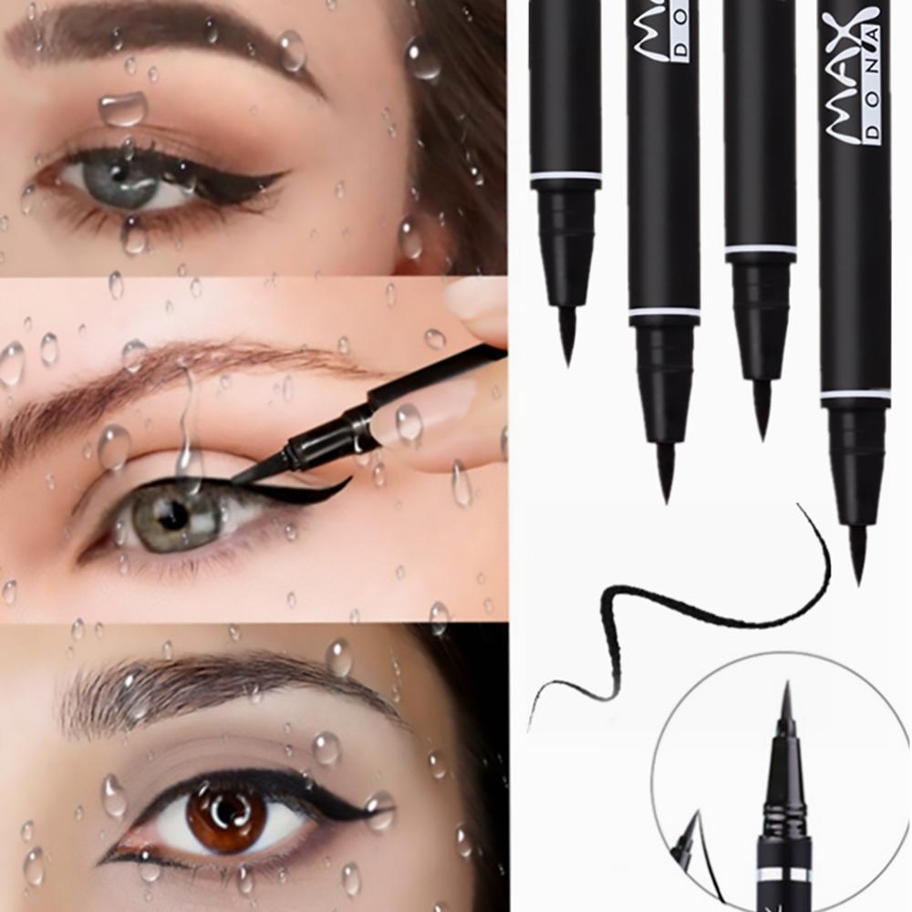1 шт., профессиональная Черная Подводка для глаз, водостойкая, долговечная, противоскользящая, косметическая подводка для глаз, карандаш, красота, макияж, маркер для глаз