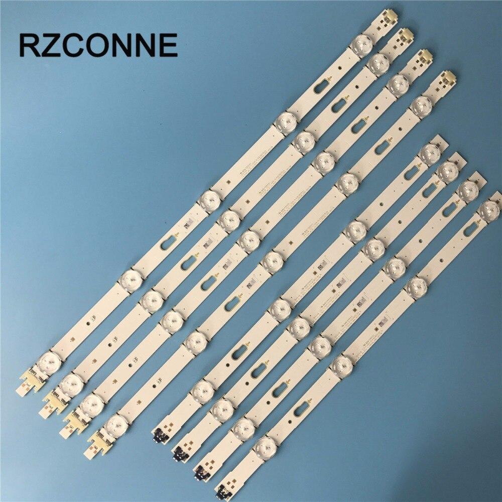 8pcs LED Backlight Strip V5DF-400DCB-R2 BN96-34784A BN96-34783A For Samsung 40 TV UE40J6300 UE40J6300AK CY-WJ040CGLV1H