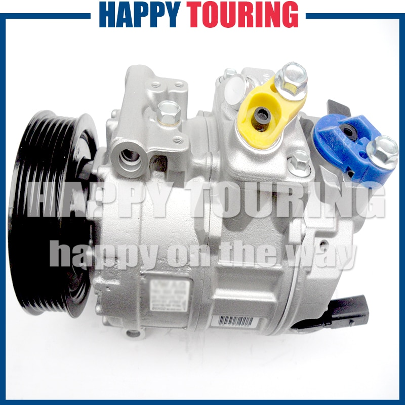 Coche compresor para VW JETTA GOLF CADDY EOS GTI Crafter 1K0820803A 1K0820803E 1K0820803F 1K0820803J 1K0820803P 1K0820808B