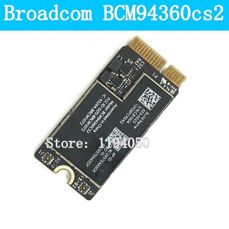 """Модуль беспроводной Wi-Fi карты Broadcom Bcm94360cs2 Bcm94360cs2ax Bcm4360 Bluetooth для Air 11 """"A1465 13"""" A1466 802.11ac"""