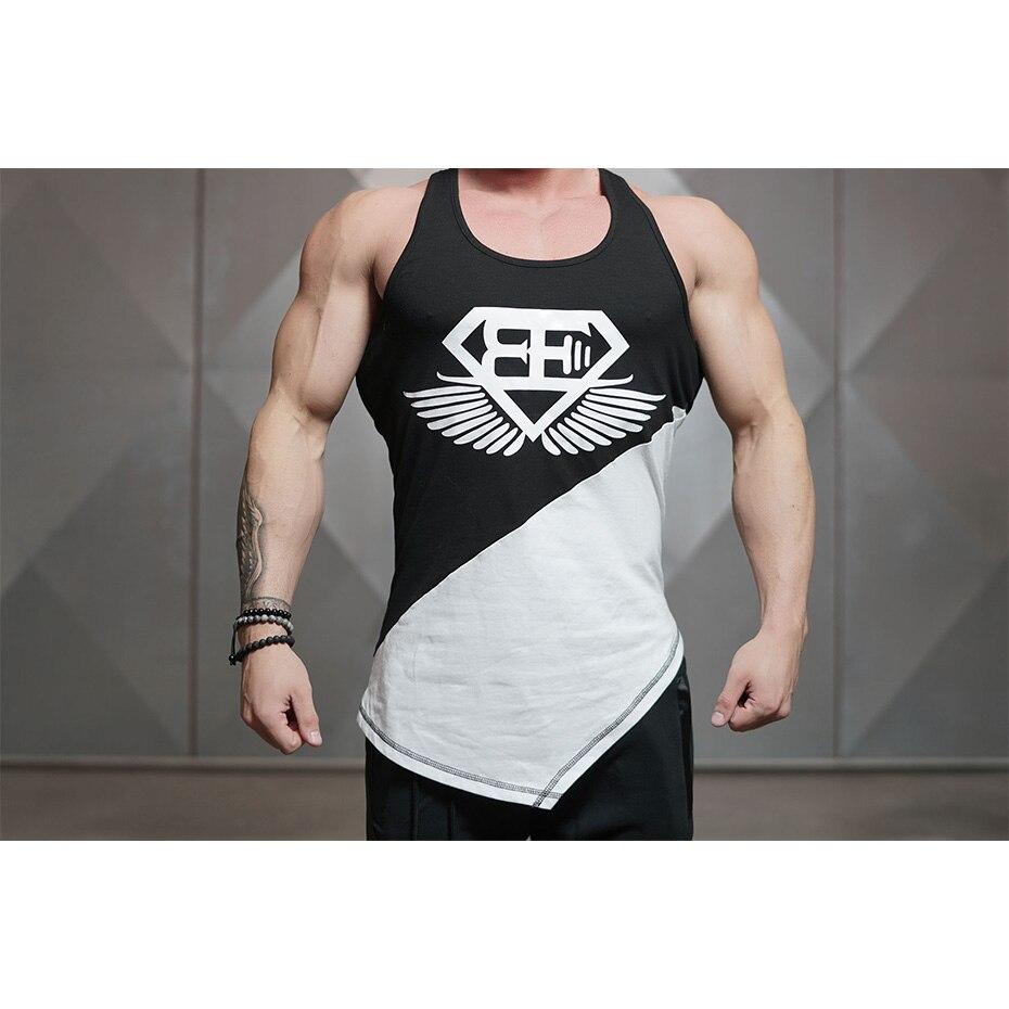 Zogaa nuevo culturismo Stringer tanque de los hombres ropa de Fitness gimnasios Camisa sin mangas de Fitness ropa deportiva camisetas músculo camisetas de manga larga de los hombres
