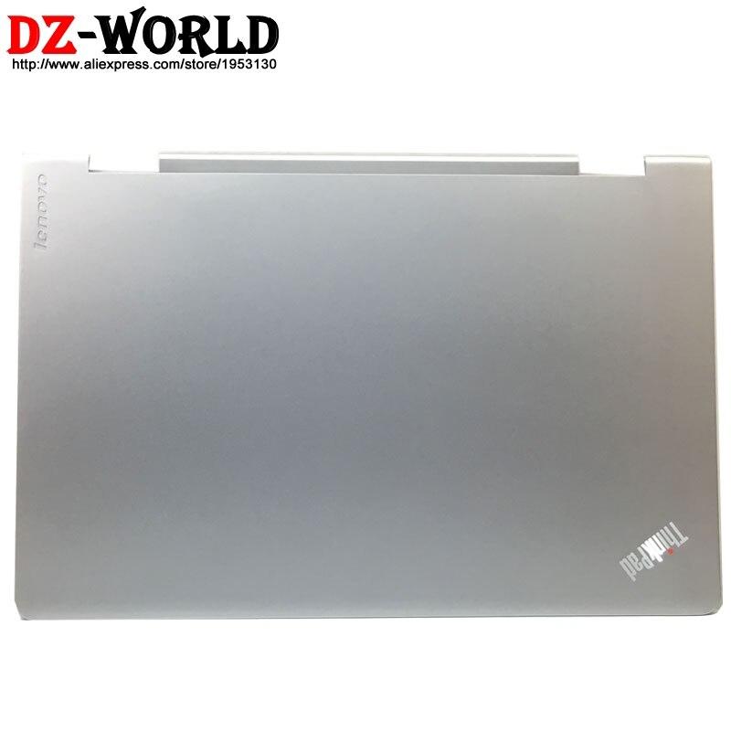 Новый оригинальный ЖК-задний Чехол, задняя крышка серебристого цвета для Lenovo ThinkPad S5 Yoga 15, экран с верхней крышкой 00JT309 AM16V000200