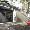 Autocollant de décoration en forme de pilier C pour Kia Sportage pour fenêtre chromée garniture en verre accessoires extérieurs de voiture 2010 – 2014
