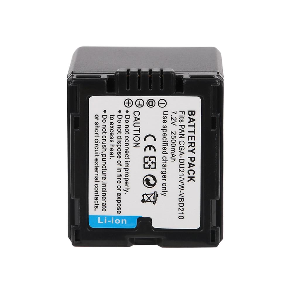 OHD Original 1400 mAh CGA-DU21 Cámara batería para Panasonic NV-GS10 NV-GS100K NV-GS120 NV-GS140 NV-GS21 NV-GS22 NV-GS250 NV-GS30