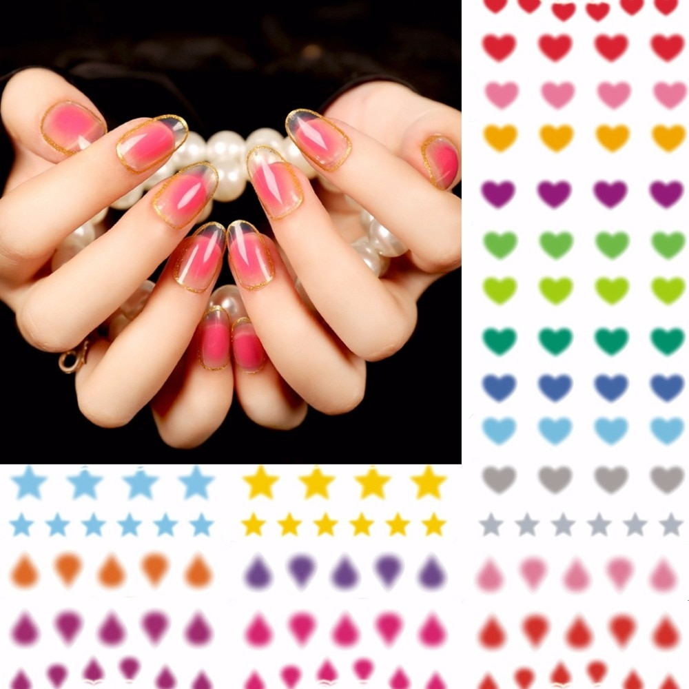 12 folhas beleza blush desings mistos Etiqueta Da Transferência de Água Dicas Da Arte do Prego DIY Acessórios Do Prego ferramentas manicure A1033-1056