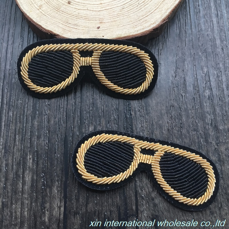 Insignia de moda con personalidad encantadora, insignias manuales de alambre de metal para manualidades, ropa, zapatos, bolsos, chapas de tela