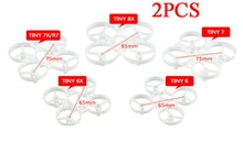 2PCS Tiny 6 7  6X 7X 8X R7 Coreless Rack 65mm 75mm 85mm FPV Frame Kit Duct  Propeller Guard w/ Box For Micro Drone DIY