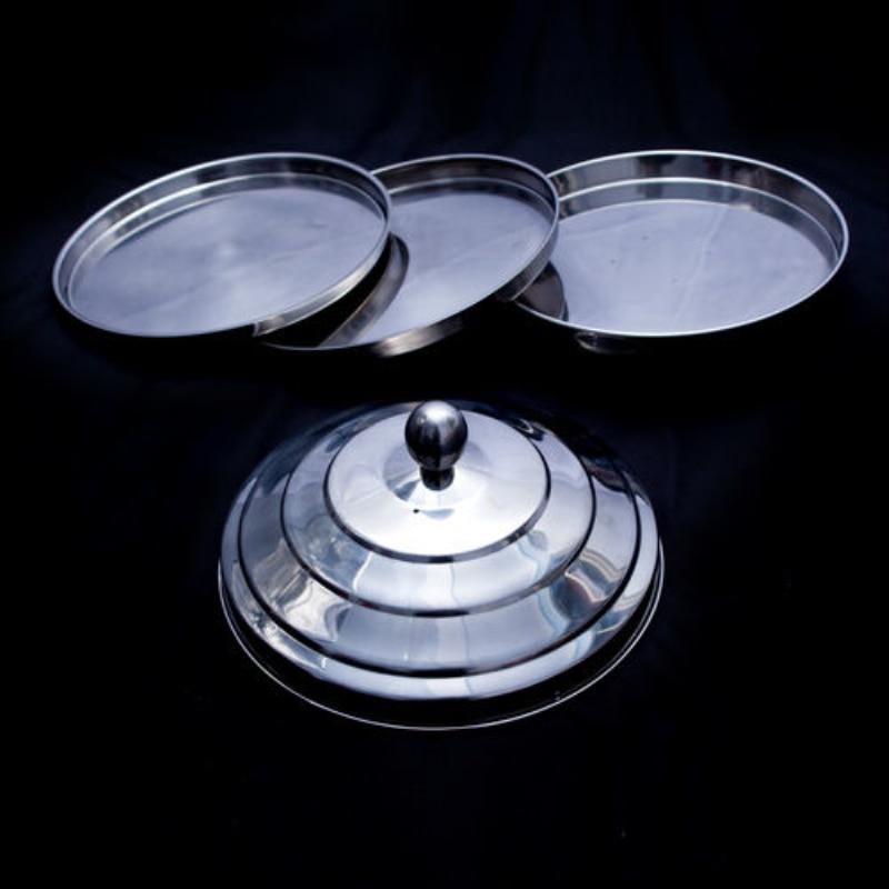 Tándem de paloma que aparece de pan trucos de magia accesorios de magia
