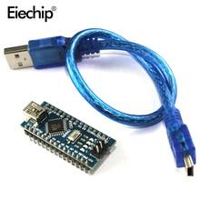 Mini carte contrôleur USB Nano V3.0 ATmega328P Nano V3 Micro contrôleur Compatible pour arduino CH340G pilote USB NANO 3.0 328P