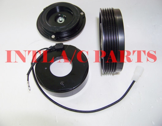 7SBU16C air con ac kompressor magnet kupplung montage 5pk pulley für BMW 3 SERIE E46 328i/5 SERIE E39/X3 CO 105116C 77396
