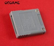 OCGAME SD memoria Flash WISD tarjeta Adaptador convertidor adaptador lector de tarjeta para Wii NGC GameCube consola de juegos 10 unids/lote
