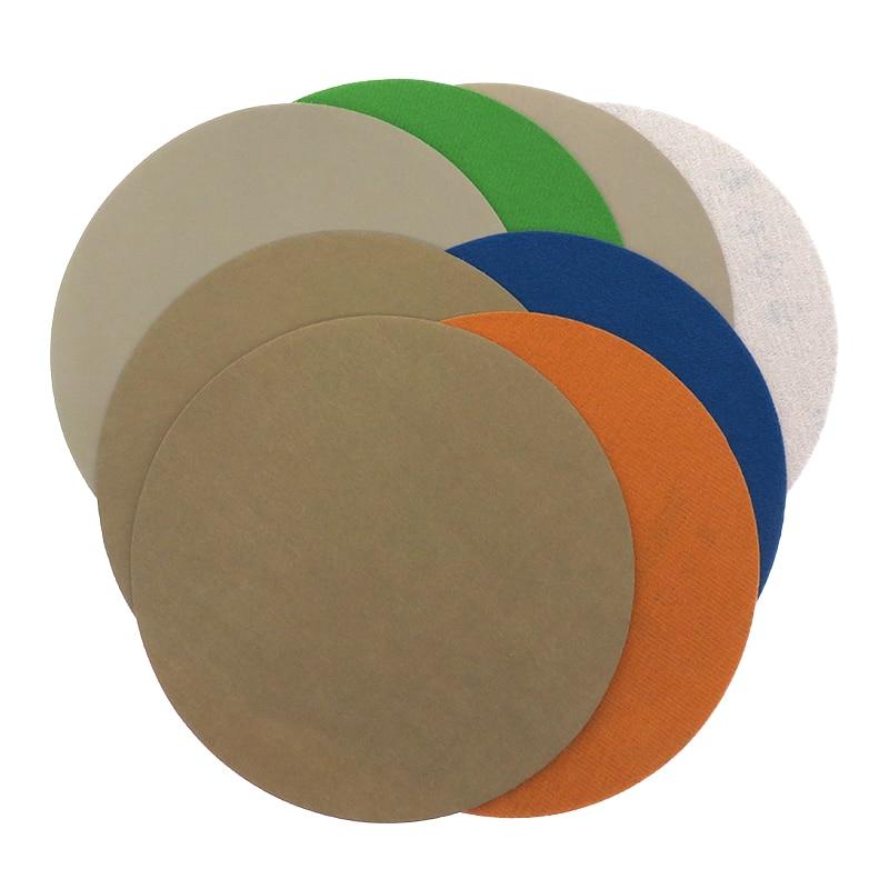 Discos de lijado resistentes al agua de 5 Uds., 7 pulgadas, 180mm, papel de lija de carburo de silicio húmedo/Dry3000 a 10000 arena para pulir