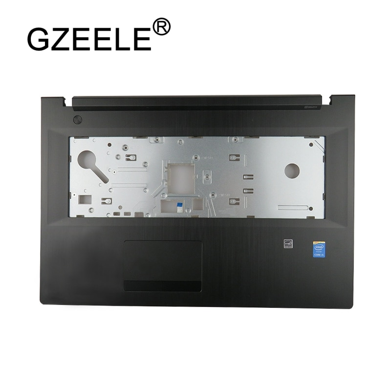 GZEELE جديد Topcase العليا حالة لينوفو G70 G70-70 G70-80 B70 B70-70 Z70 Z70-80 أعلى غطاء Palmrest غطاء AP0U0000300 الحافة