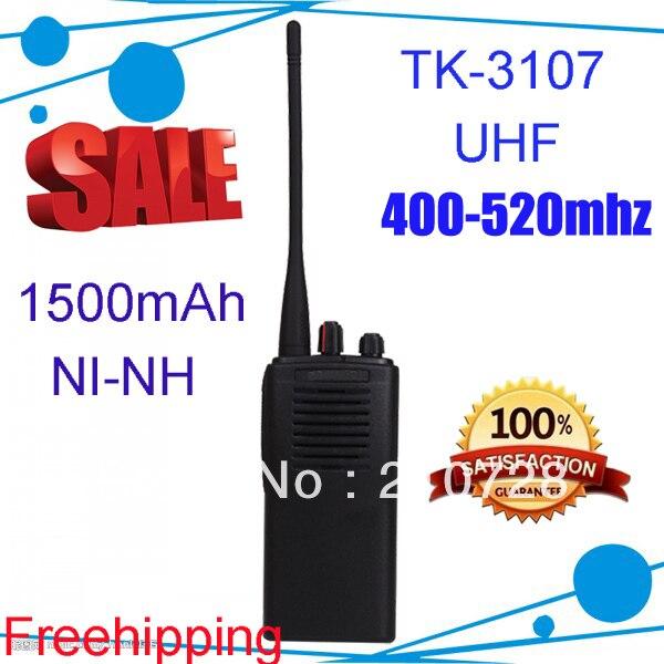 TK-3107 mejor walkie talkie transmisor de radio portátil de 2 vías