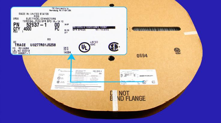 محطات TYCO 52937-1, TYCO محطات TE موصلات أطراف 100% أجزاء جديدة وأصلية