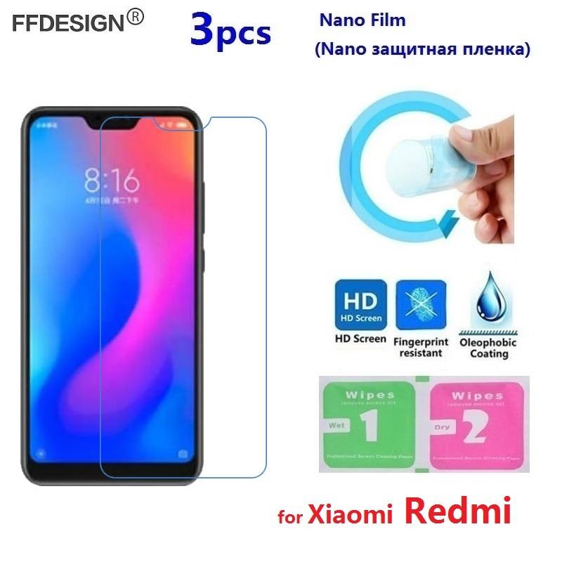 Soft Nano Protective Film For Xiaomi Redmi Note 7 6 5 Pro Redmi 7 6A 6 Pro 5 Plus (Not Glass) Screen