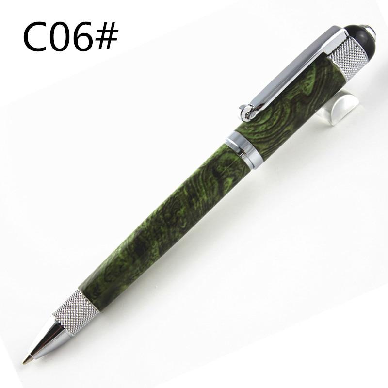 Роскошный дизайн шариковая ручка с роликами различные варианты цвета Горячая Распродажа Шариковая ручка для письма