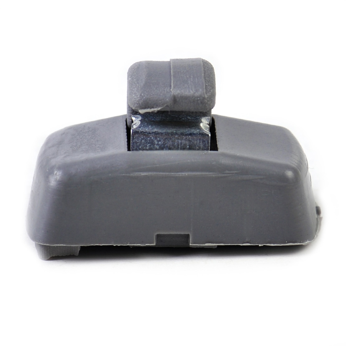 Cigall 3B0857561B 3B0857561BY20 gancho de la visera gris gancho de Clip para VW Golf GTI Jetta Mk4 Passat B5 B6 asiento de Polo Touran