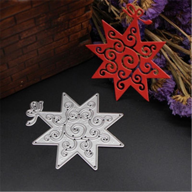 O corte de metal do floco de neve morre stencils menina para diy scrapbooking álbum de fotos decorativo gravando cartões de papel