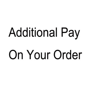 Additional Pay on Your Order plus